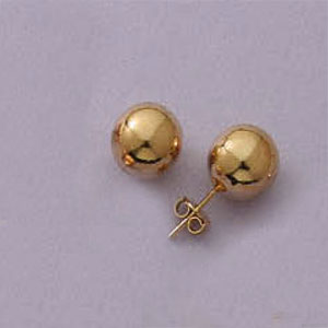 10MM Ball Post Earrings
