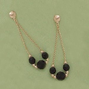Dangling Azabache Earrings