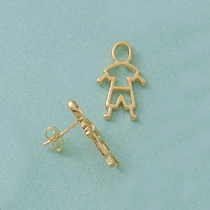 Bouncing Boy Earrings