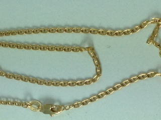 Long Mariner Link Necklace