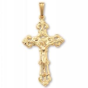 Pierced Ornate Crucifix