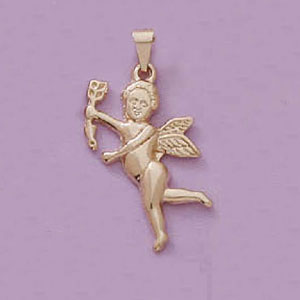 Lovely Cupid Pendant