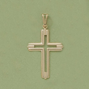 Silo Traditional Cross Pendant