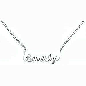 Sterling Silver Personalized Name Chain