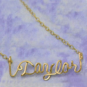 KID'S PERSONALIZED NAME CHAIN
