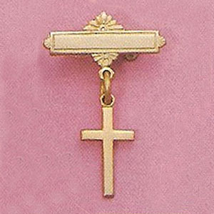 Cross Baby Pin