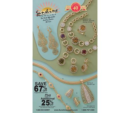 Sunshine Jewelry Catalog Vol #31