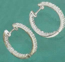 Sterling Silver Hoop Earrings at Sunshine Jewelry