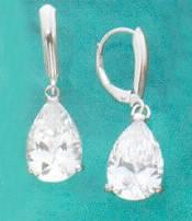 Sterling Silver Teardrop Earrings at Sunshine Jewelry